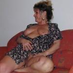 behaarte-Hausfrauenmuschi